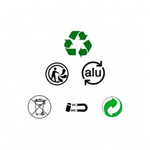 Guide des logos du recyclage