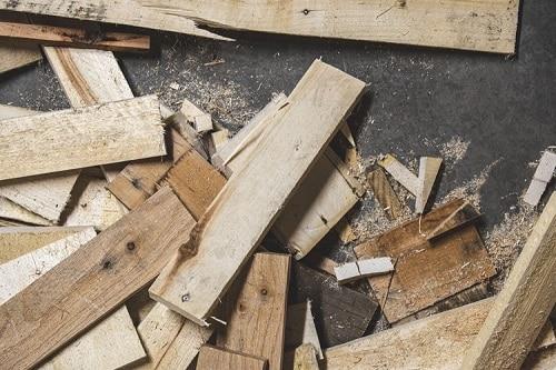 morceaux de bois