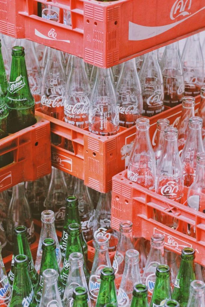 bouteilles en verre consignées