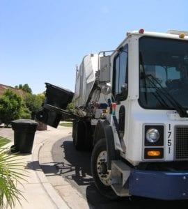 collecte de poubelles