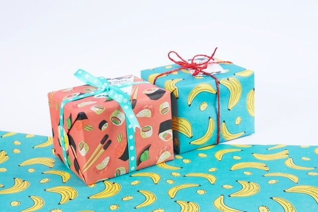 papier d'emballage cadeau