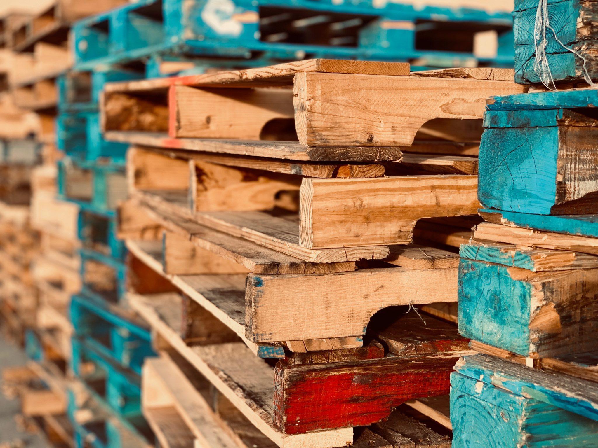 Comment réutiliser les palettes en bois ?