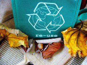 sac recyclage réutilisation palette